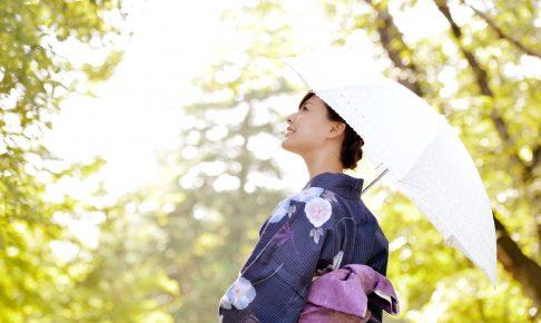 遮光 日傘 効果