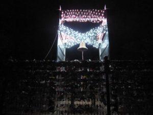 江の島湘南の宝石イルミネーション 龍恋の鐘