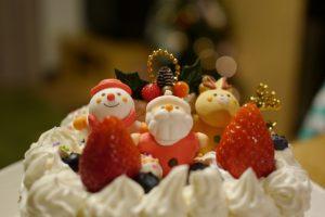 1歳 クリスマスケーキ