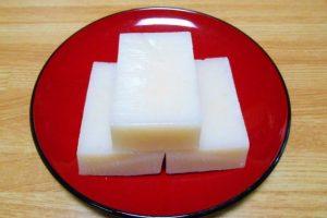 切り餅 お正月の雑煮は日本全国で様々